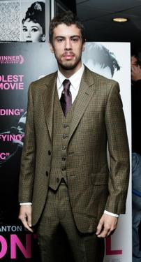 Toby Kebbell at the London screening of &quot;Control.&quot;